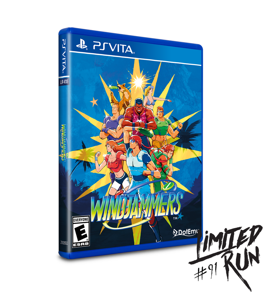 Limited Run #91: Windjammers Collector's Edition (Vita)