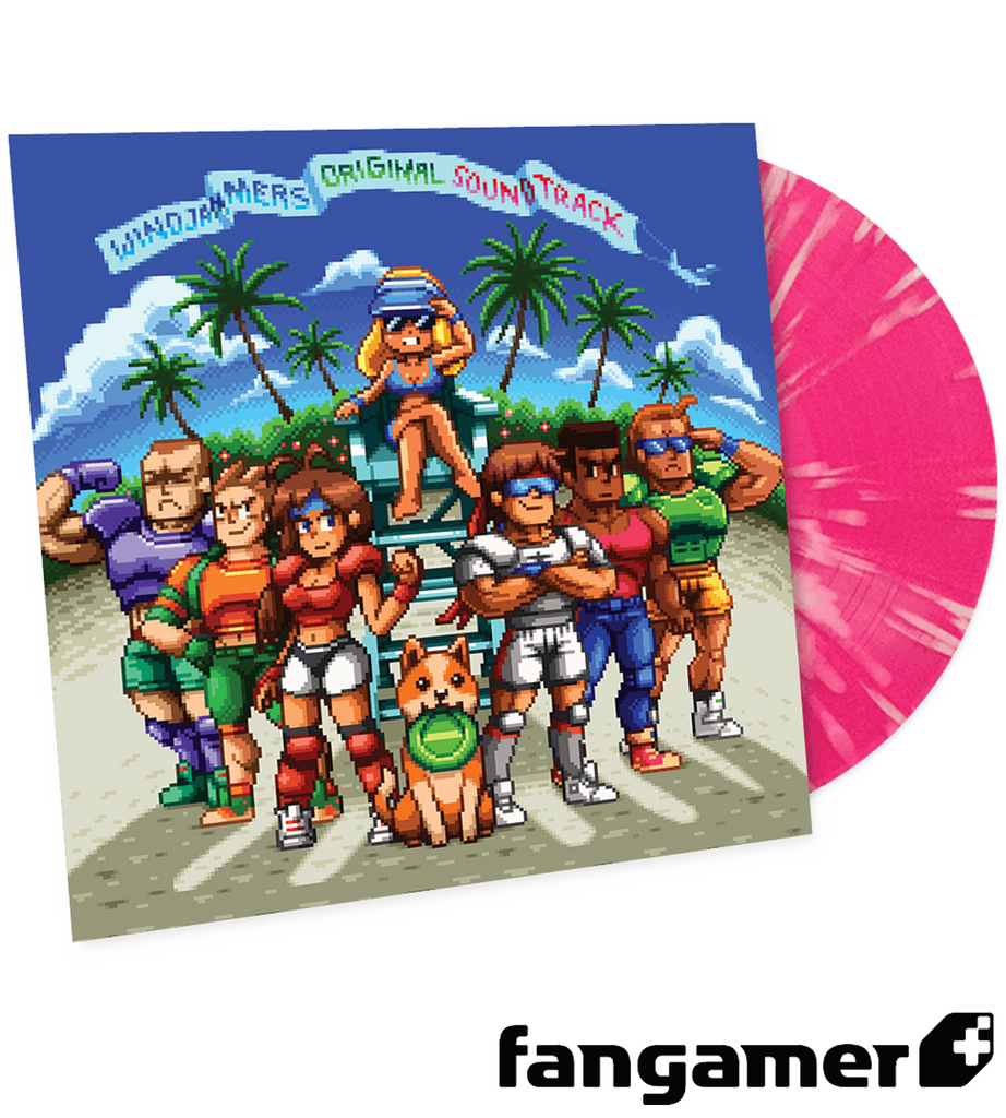 Windjammers Vinyl Soundtrack LRG Exclusive
