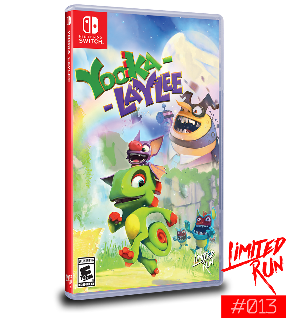 Switch Limited Run #13: Yooka-Laylee
