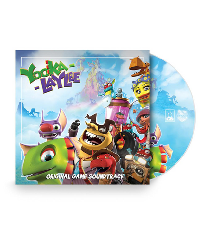 Yooka-Laylee Original Soundtrack CD