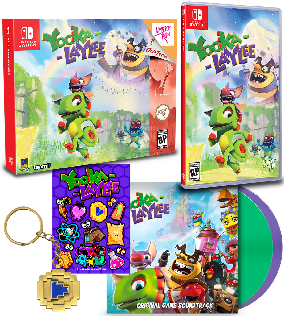 Yooka-Laylee Collectathon Bundle