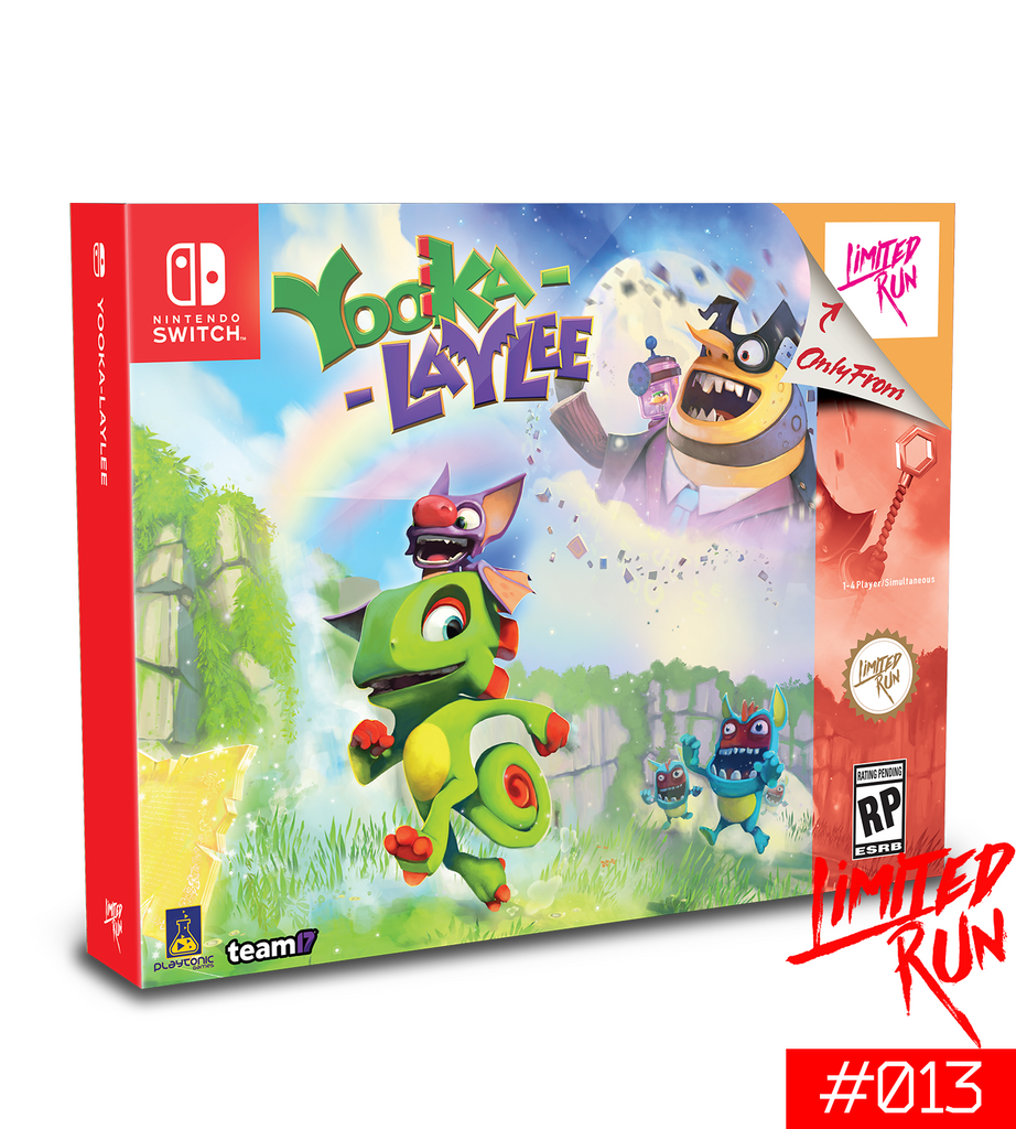 Switch Limited Run #13: Yooka-Laylee CE Backer Edition