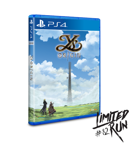 Limited Run #82: Ys Origin (PS4)