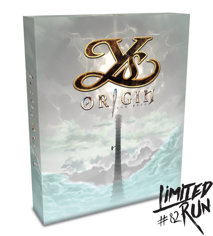 Limited Run #82: Ys Origin Collector's Edition (PS4)