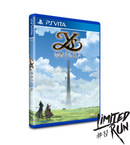 Limited Run #81: Ys Origin (Vita)