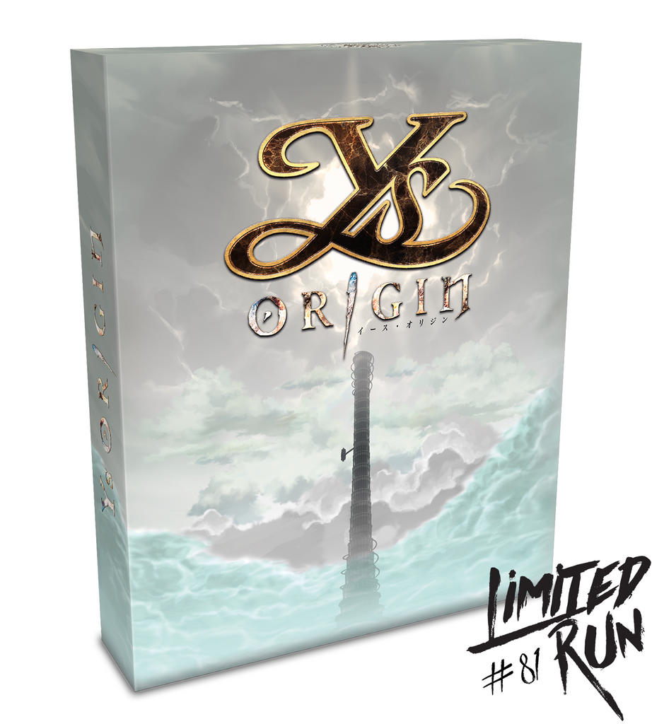 Limited Run #81: Ys Origin Collector's Edition (Vita)