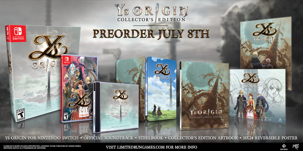 Ys Origin Collector's Edition (Switch)