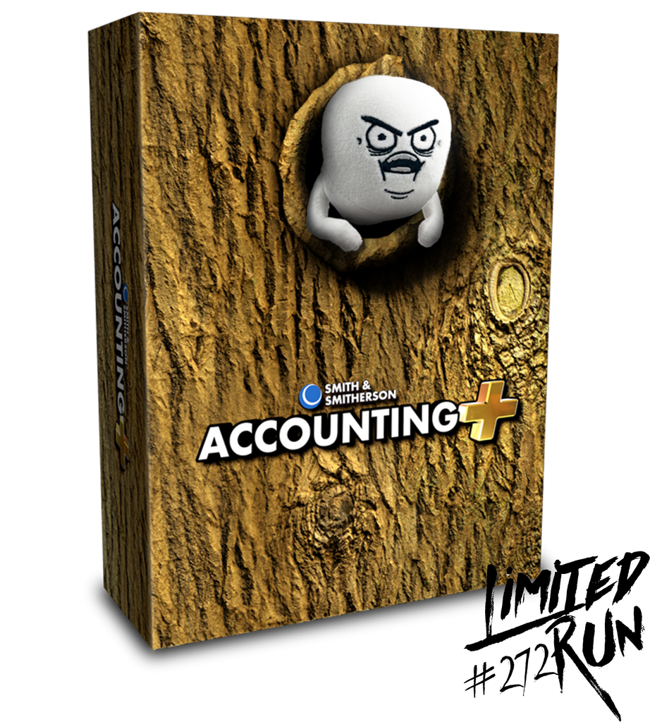 Limited Run #272: Accounting+ Tree Guy Edition (PS4)