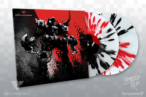 Nex Machina Red/Black Splatter Variant Vinyl