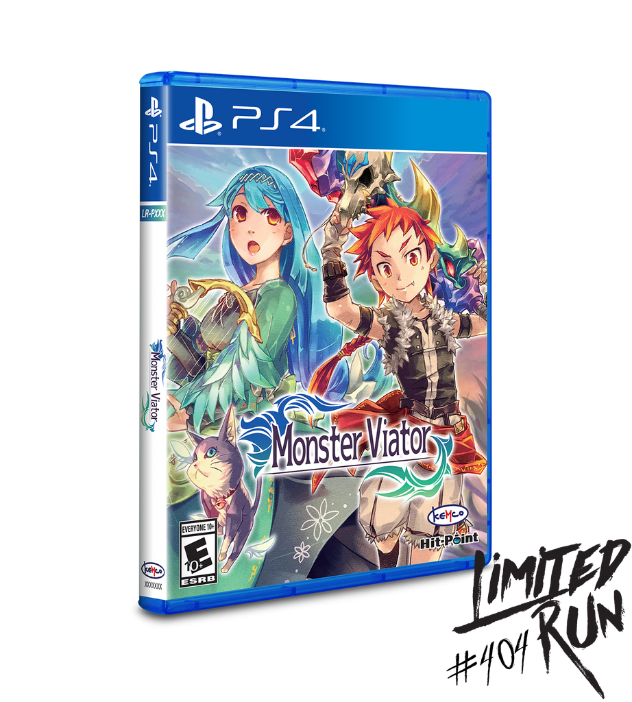 Limited Run #404: Monster Viator (PS4)