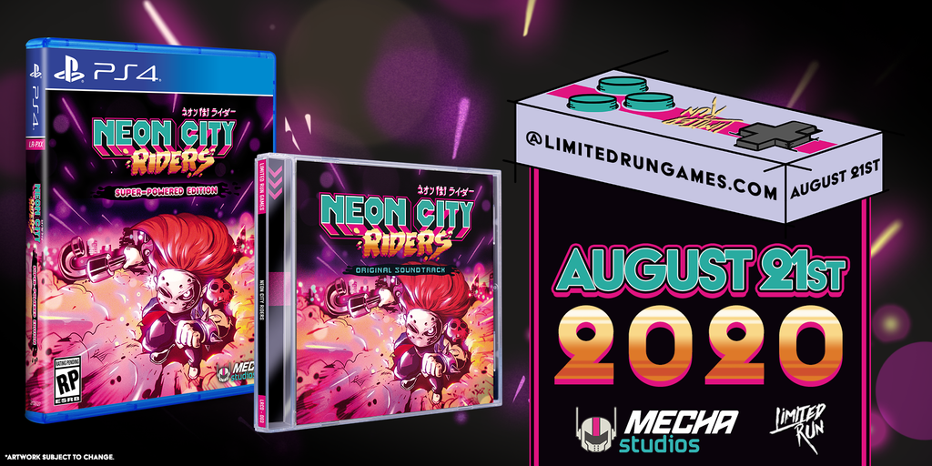 Limited Run #359: Neon City Riders OST Bundle (PS4)