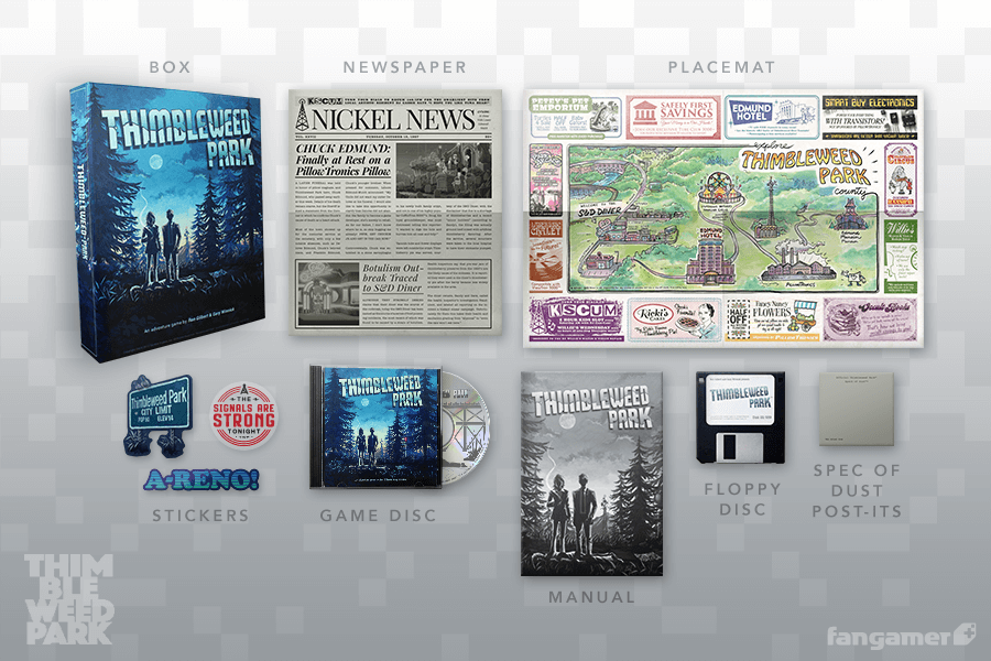Thimbleweed Park Collector's Game Box (PC)