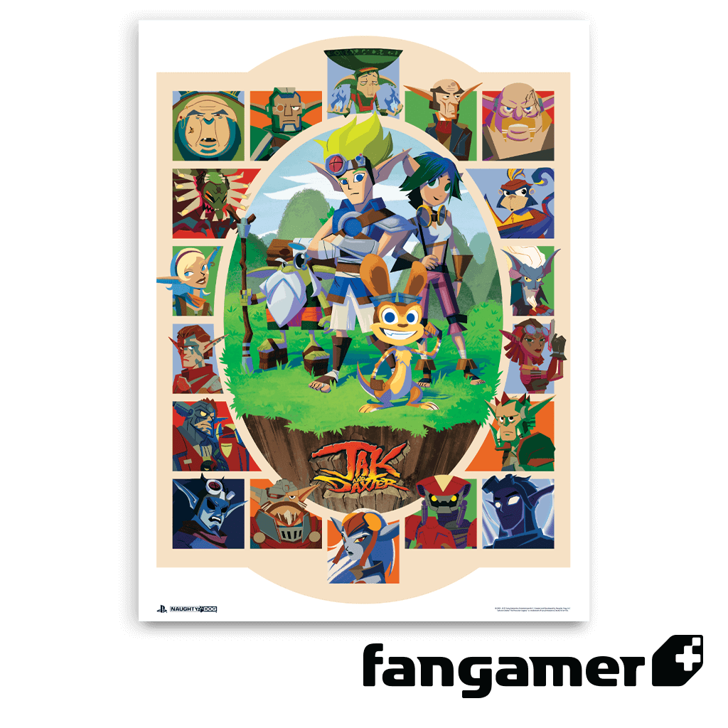 Jak and Daxter Heroes vs. Villains Poster