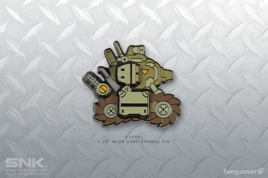 Metal Slug SV-001 Tank Pin