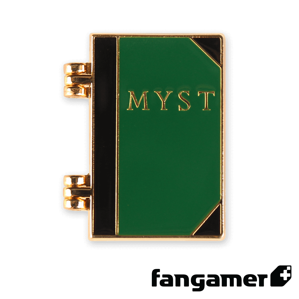 MYST Opening Book Pin