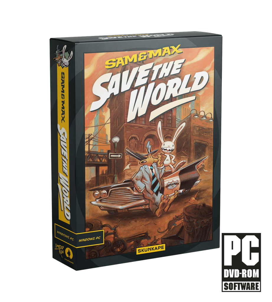 Sam & Max Save the World (PC) Collector's Edition