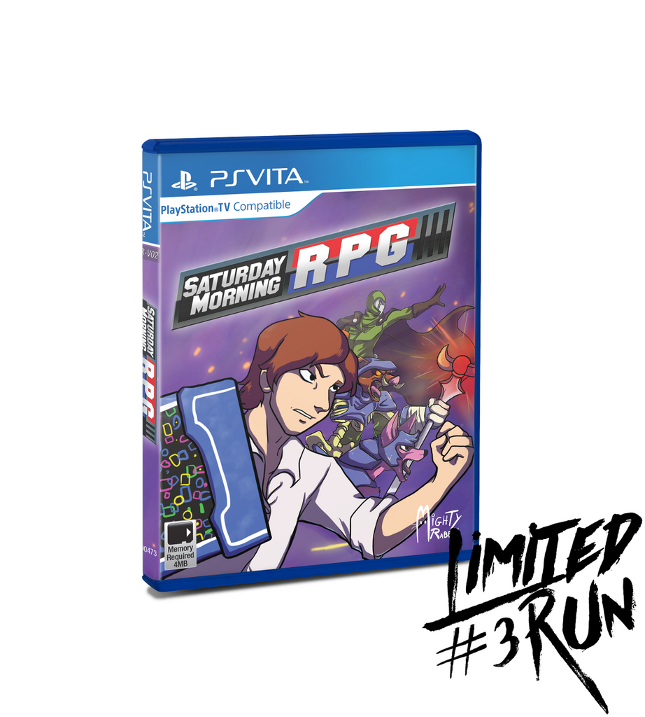 Limited Run #3: Saturday Morning RPG (Vita)