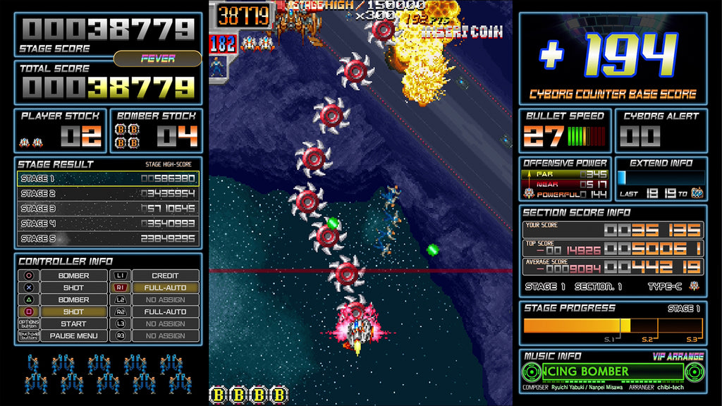 Limited Run #398: Dangun Feveron (PS4)