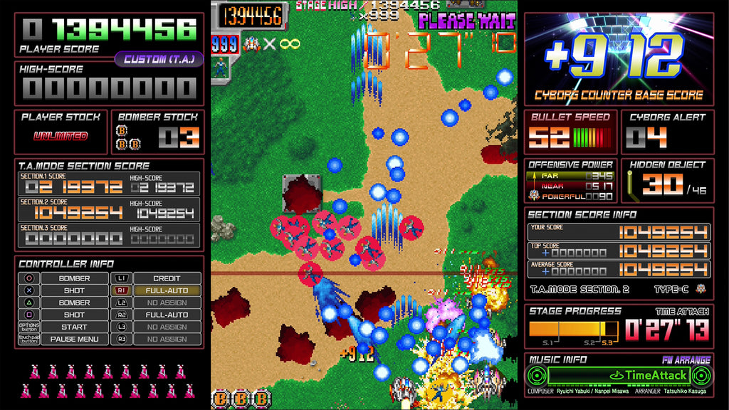Limited Run #398: Dangun Feveron Collector's Edition (PS4)