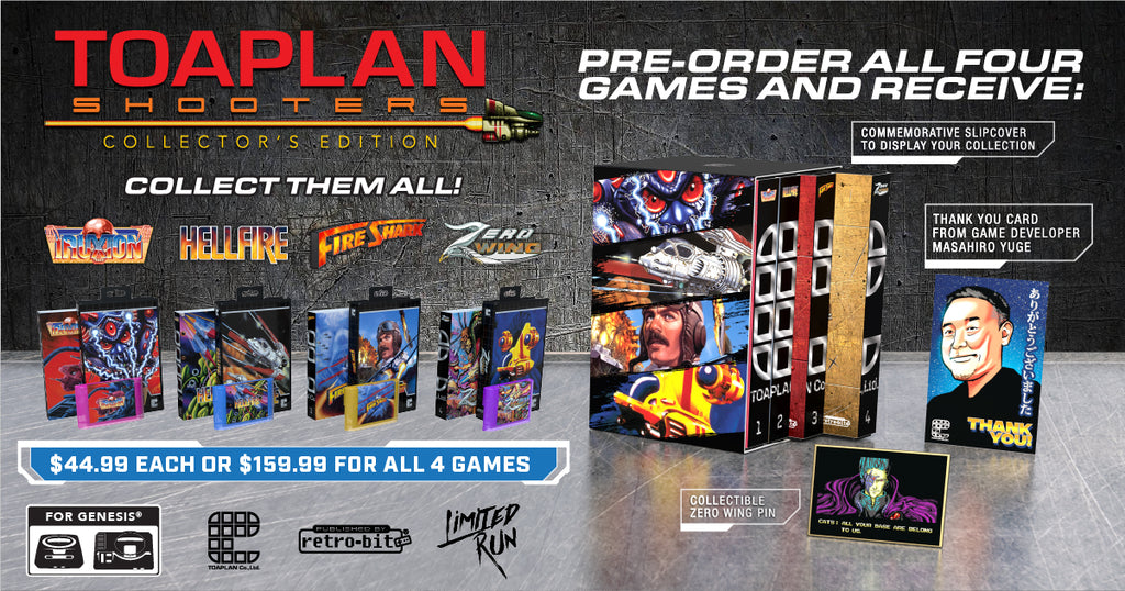 Toaplan Collector's Edition (Genesis)