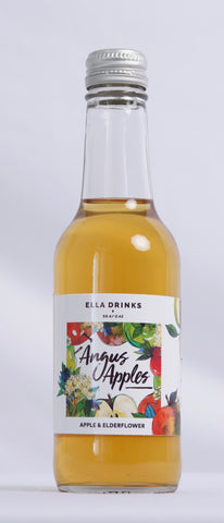 Angus Apples 12 x 250ml 100% Apple & Elderflower Juice