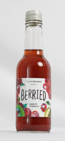 Berried Raspberry 12 x 250ml Berry & Apple Juice Drink