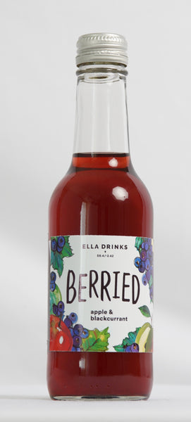 Berried Blackcurrant 12 x 250ml Berry & Apple Juice Drink