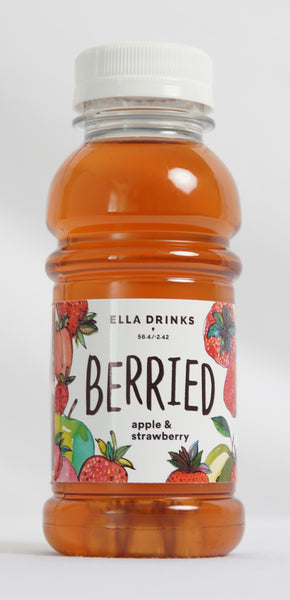 Berried Strawberry 24 x 250ml Berry & Apple Juice Drink