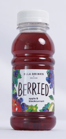Berried Blackcurrant 24 x 250ml Berry & Apple Juice Drink