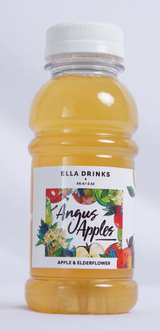 Angus Apples 24 x 250ml 100% Apple & Elderflower Juice