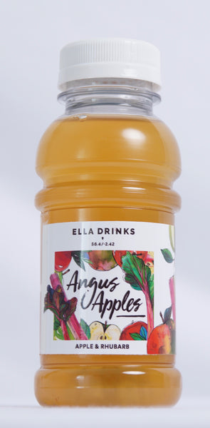 Angus Apples 24 x 250ml 100% Apple & Rhubarb Juice