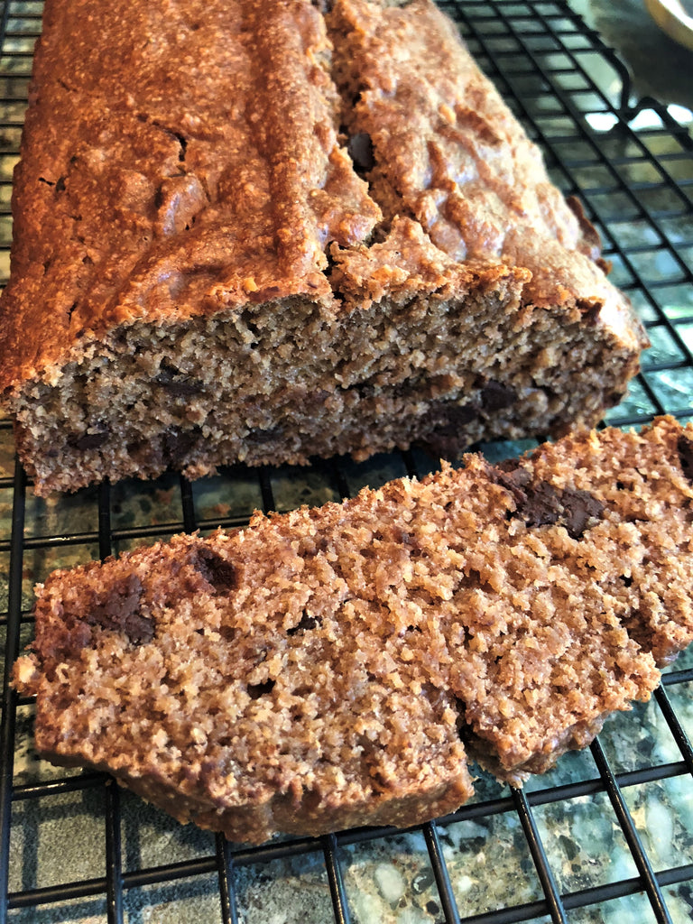 In the Blender: Flourless, Vegan, Gluten & Dairy Free Banana Bread