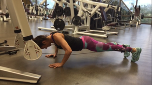 Planks+ Knees = Oblique Work!