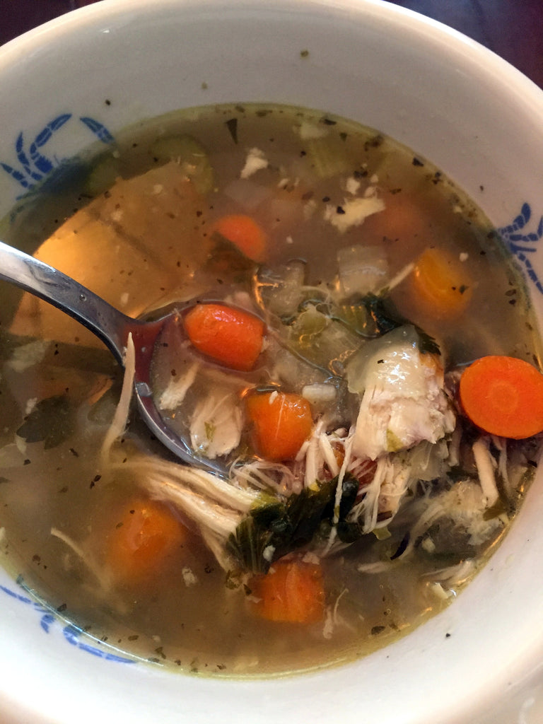 Let Food Be Thy Medicine... Chicken Soup!