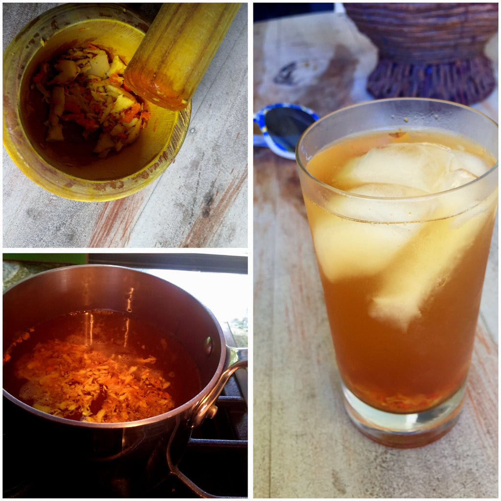 Ginger + Tumeric Tea