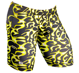 "Men's 9"" Printed Hybrid Short: Fired Up"
