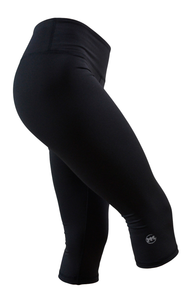 Women's Capri: True Black