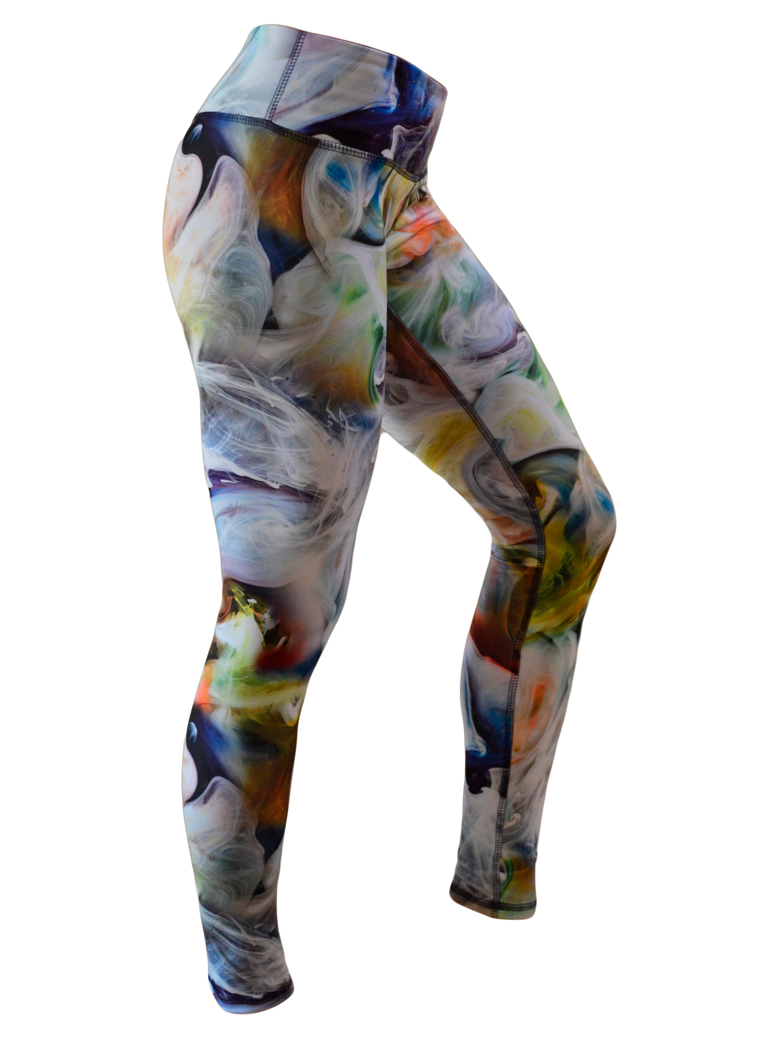 Women's Printed Hybrid Tight: Smokin' Hot