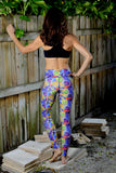 Women's Printed Legging: Downtown