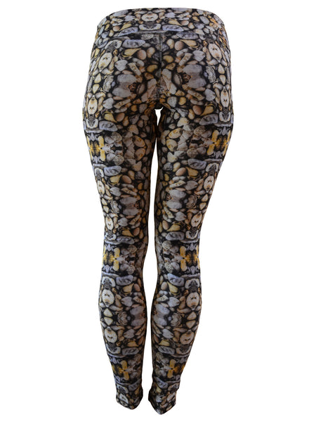 Women's Printed Hybrid Tight: Girls Rock