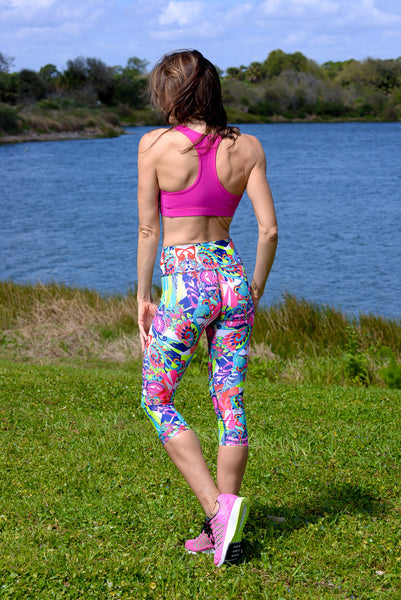 Women's Comfort Capri: Illuminate