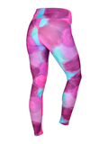 Women's Printed Legging: Poppy Watercolor