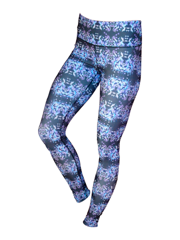Women's Printed Legging: Mystic