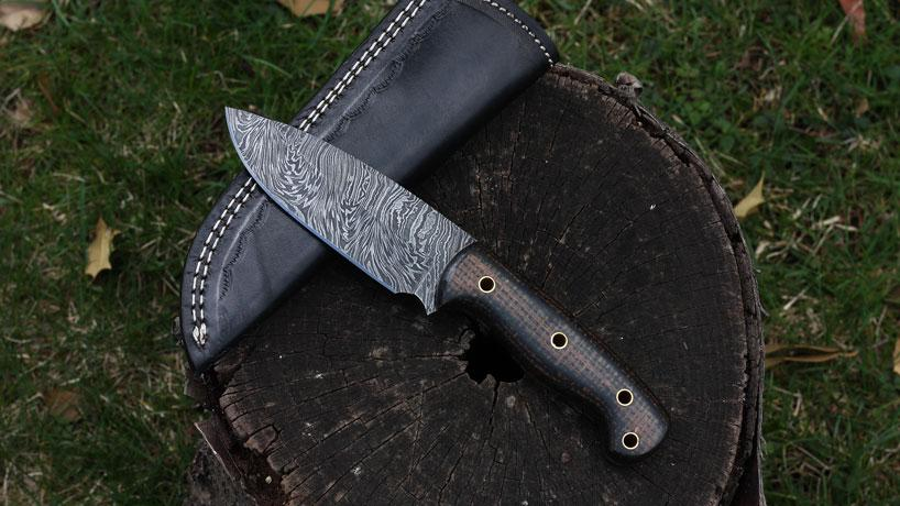 hunting knife, fixed blade, outdoor knives, pocket knives, folding knife, jackson blades, damascus knife, handmade, damascus steel, stainless steel
