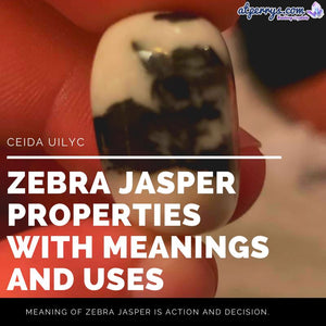 Zebra Jasper Properties with Meanings and Uses