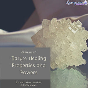 Baryte Healing Properties and Powers