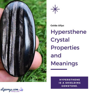 Hypersthene Crystal Properties and Meanings