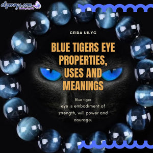Blue Tigers Eye Properties, Uses and Meanings