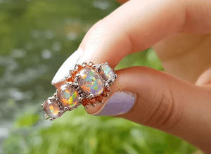Buy Orange Fire Opal Ring Only After Checking Real Reviews