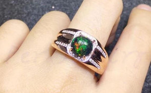 Black Opal Ring Powers, Meanings and Uses